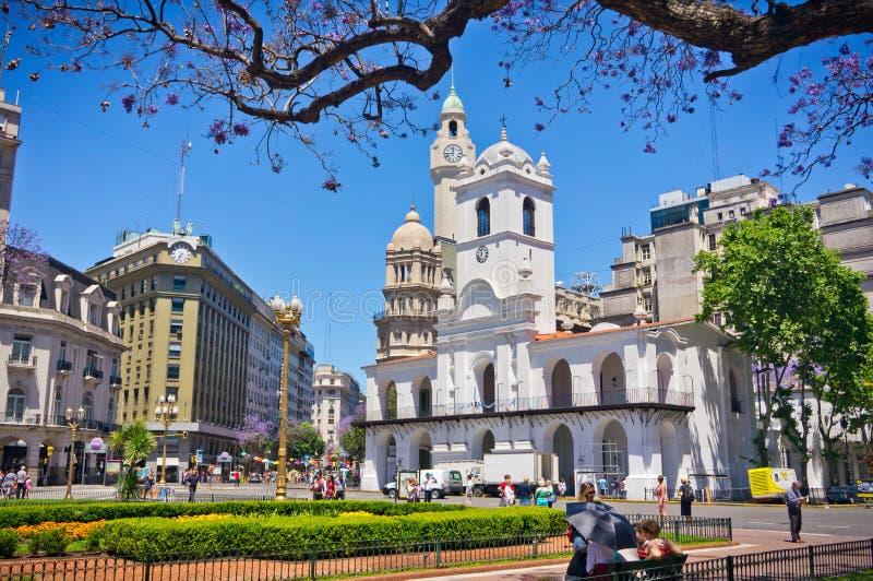 Capital de Buenos Aires de Argentina imagens de stock royalty free