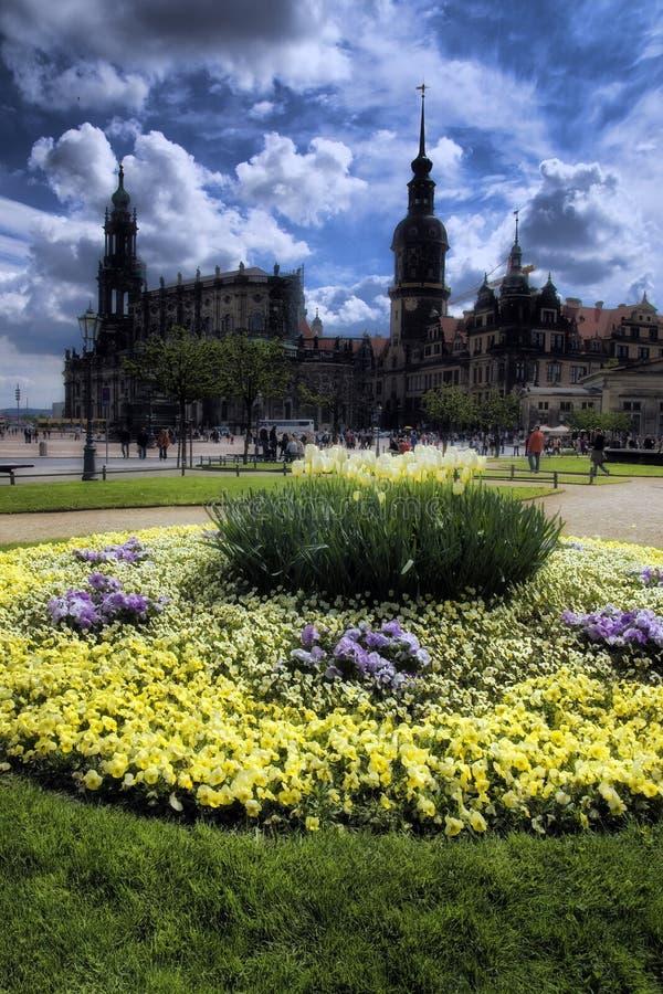 Capital de Dresden Saxonys imagem de stock royalty free