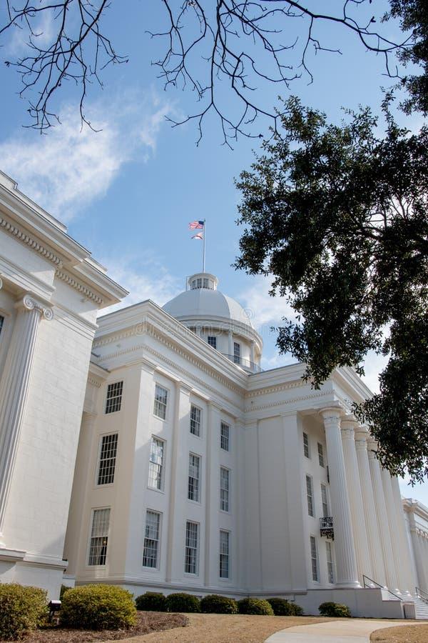 Capital de estado de Alabama imagens de stock