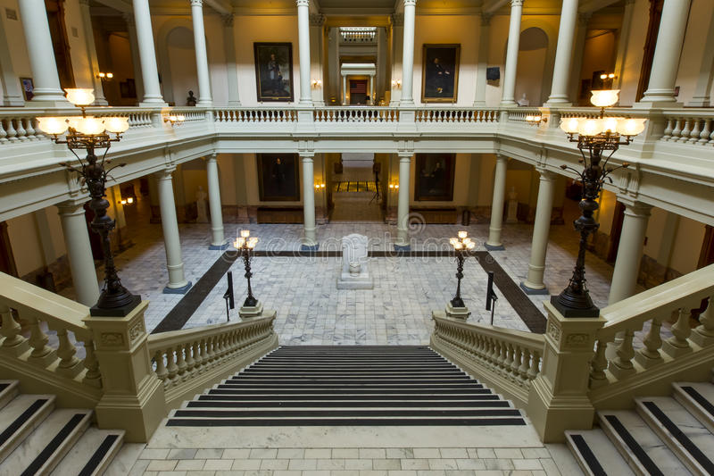 Capital de estado de Geórgia foto de stock royalty free