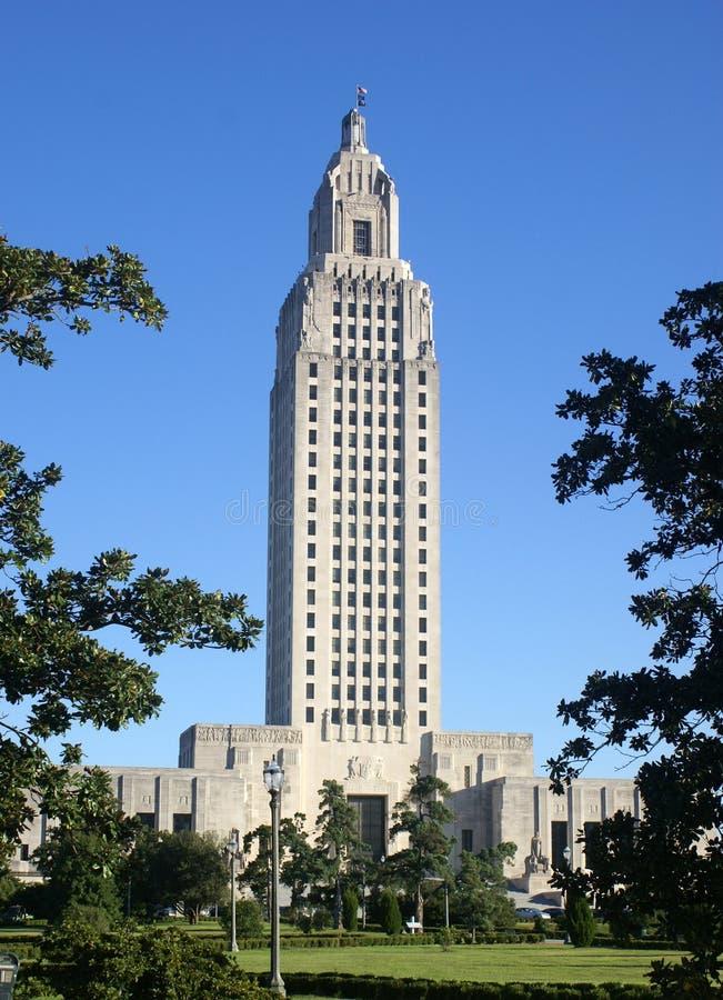 Capital de estado de Louisiana imagens de stock
