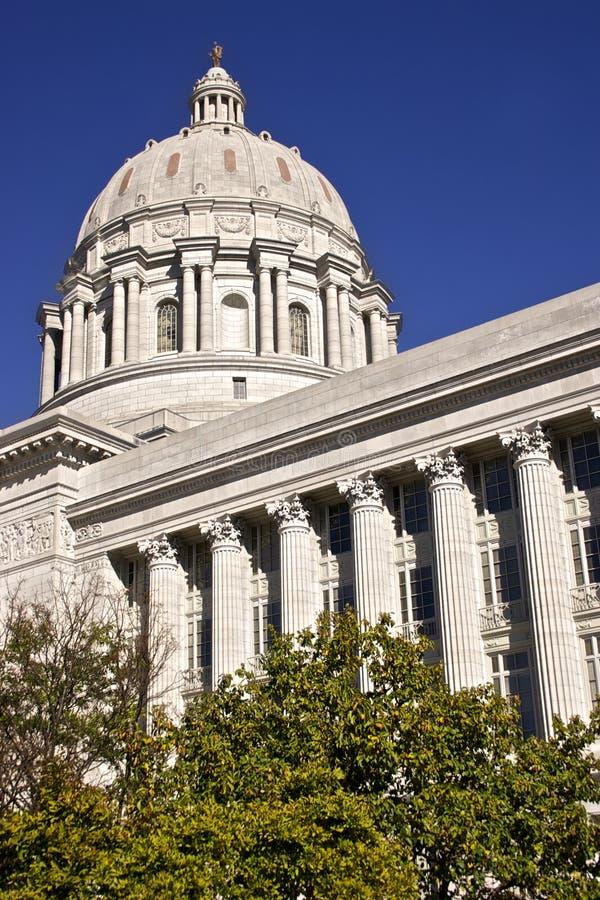 Capital de estado de Missouri na cidade de Jeff fotos de stock