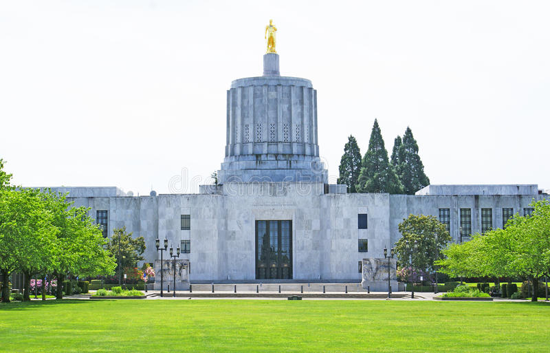 Capital de estado de Oregon fotos de stock