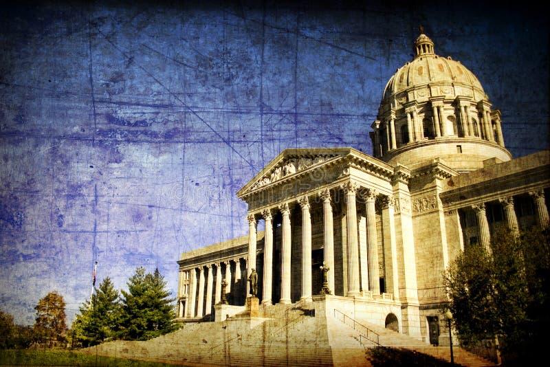 Capital de estado envelhecido de Missouri foto de stock