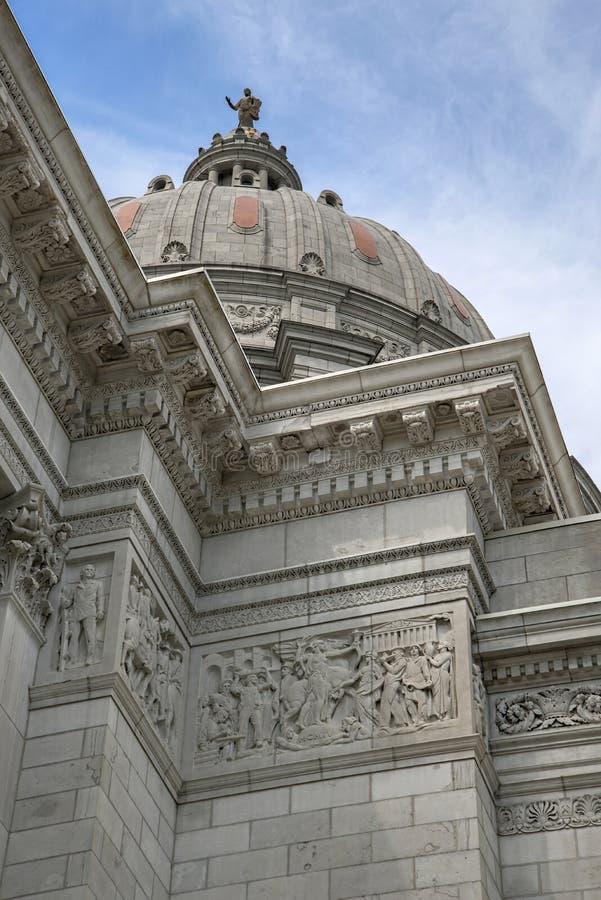 Capital de estado de Missouri fotografia de stock