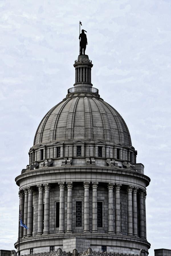Capital de estado de Oklahoma, Oklahoma City foto de stock royalty free