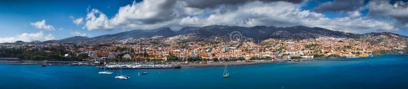 Capital de Funchal de Madeira foto de stock royalty free