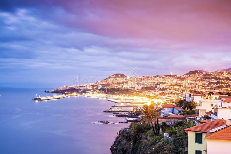 Capital de Madeira, Funchal, Portugal foto de stock
