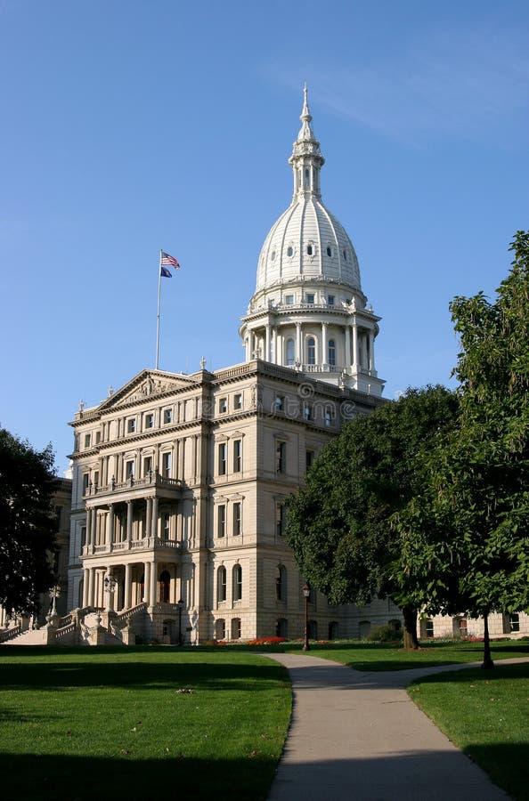 Capital de Michigan imagens de stock