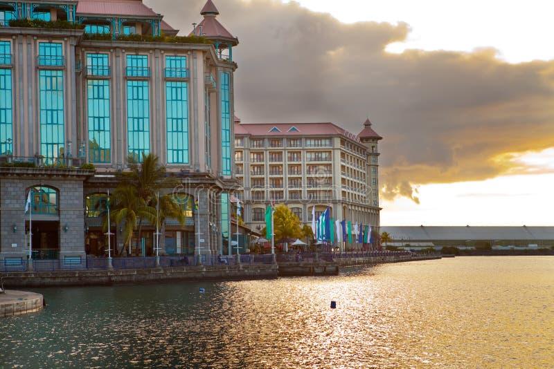 Capital de Port Louis de Isla Mauricio fotos de archivo