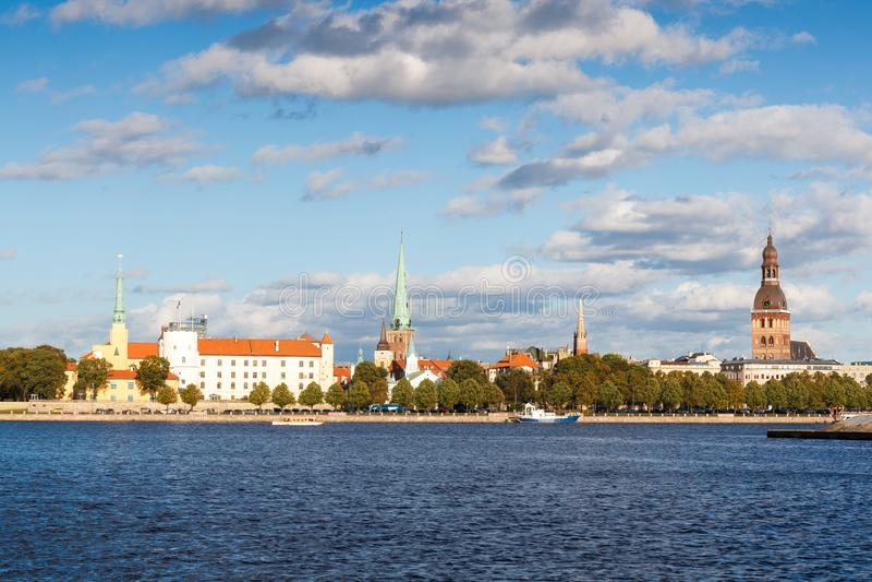 Capital de Riga de la Lettonie photographie stock