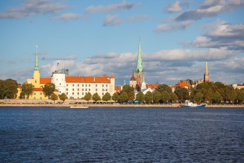 Capital de Riga de la Lettonie photos stock