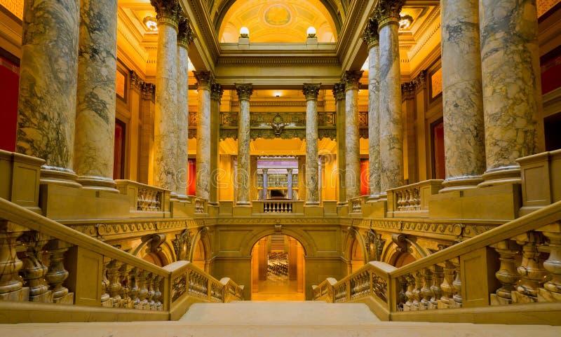Capital del Estado de Minnesota fotografía de archivo libre de regalías