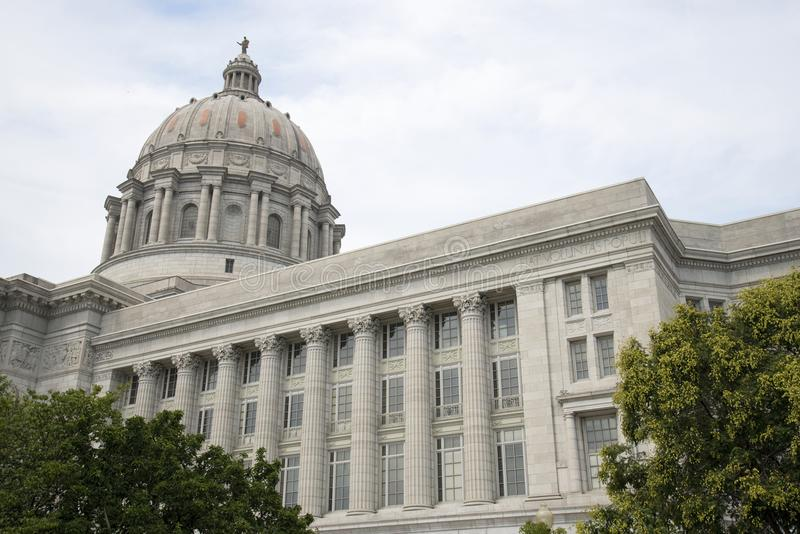 Capital del Estado de Missouri foto de archivo