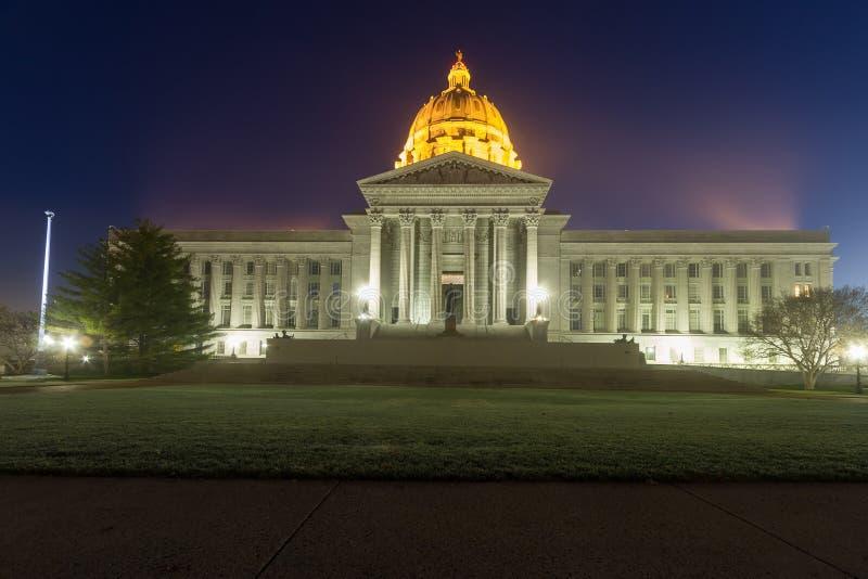 Capital del Estado de Missouri en Jefferson City, Missouri fotografía de archivo libre de regalías