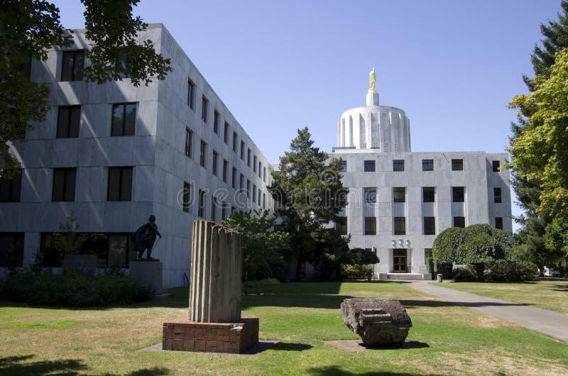 Capital del Estado de Oregon imágenes de archivo libres de regalías