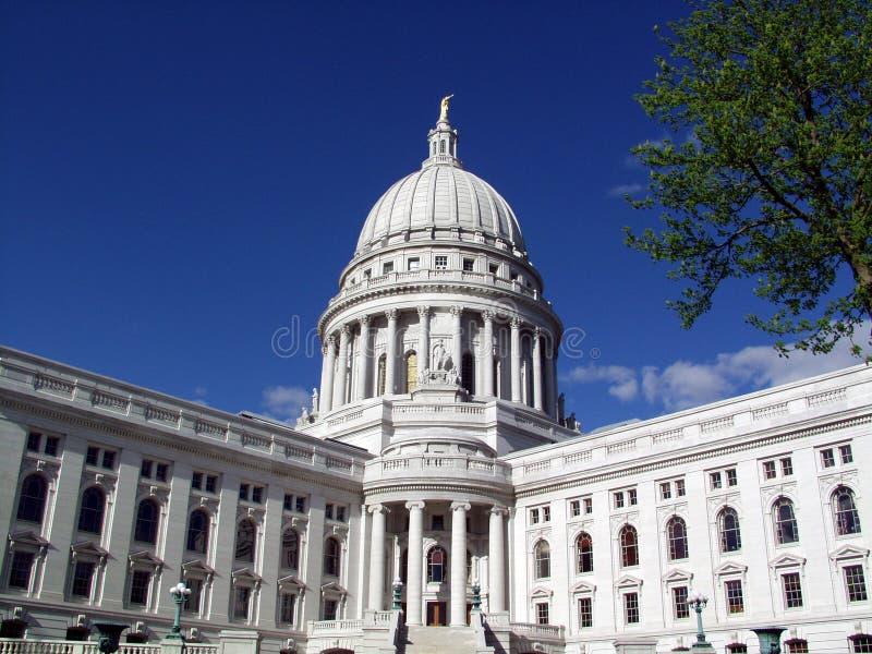 Capital del Estado de Wisconsin fotos de archivo libres de regalías