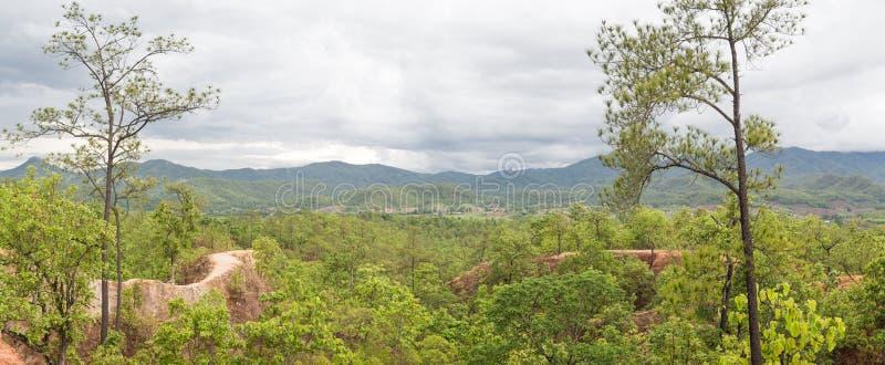 Capital del Gran Cañón del panorama de Tailandia foto de archivo