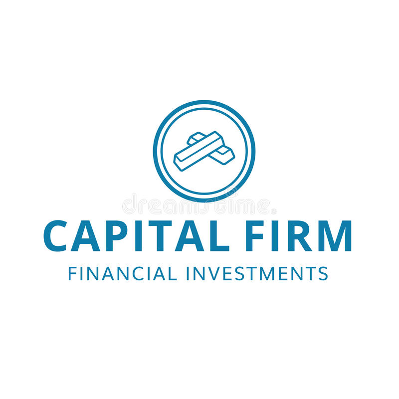 capital finance financial firm investment logo stock