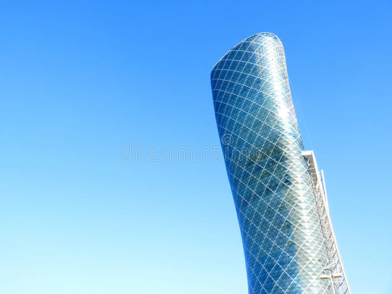 Download Capital Gate Abu Dhabi Exhibition Center Editorial Photography - Image: 17590472