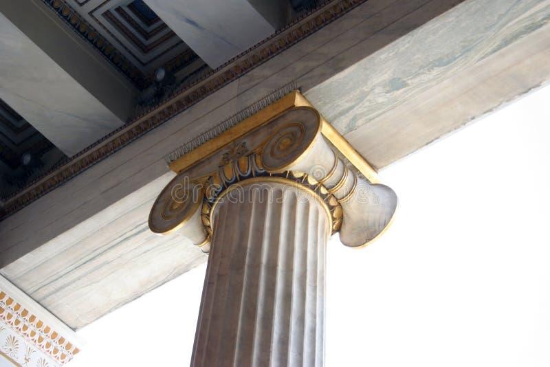 Capital Ionian fotos de stock royalty free