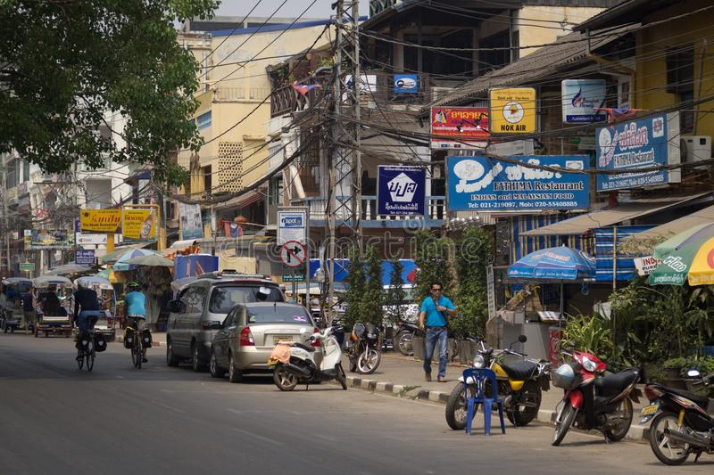 Download The Capital Of Laos, Vientiane Editorial Stock Image - Image of market, cheaper: 83706564