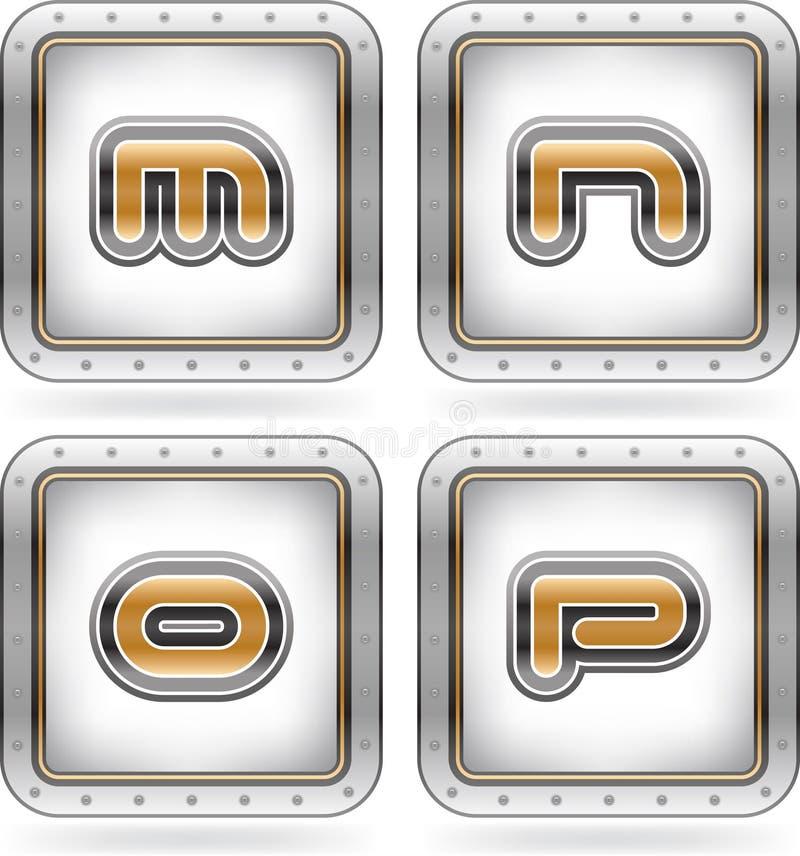 Download Capital letters stock vector. Illustration of black, letter - 26503532