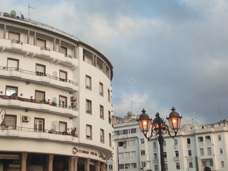 Capital Marrocos do La de Rabat imagens de stock royalty free