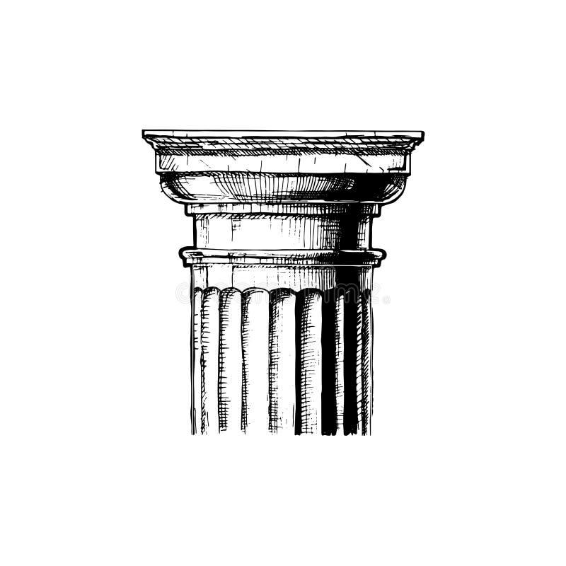capital Ordem clássica ilustração stock