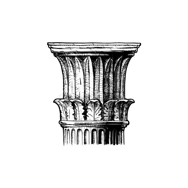 capital Ordre classique illustration de vecteur