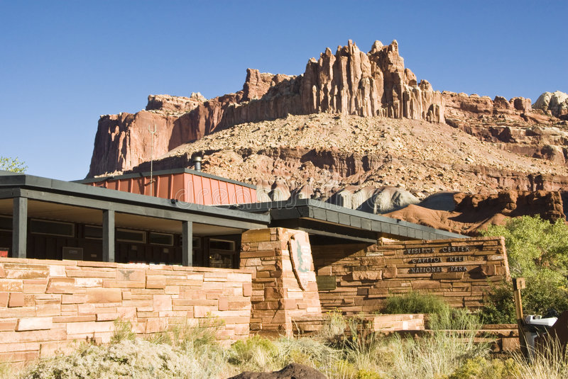 Download Capital Reef Visitors Center 3 Stock Photo - Image: 5132820