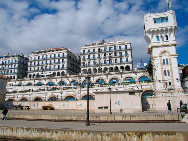 Capitale d'Alger de pays de l'Algérie photos stock