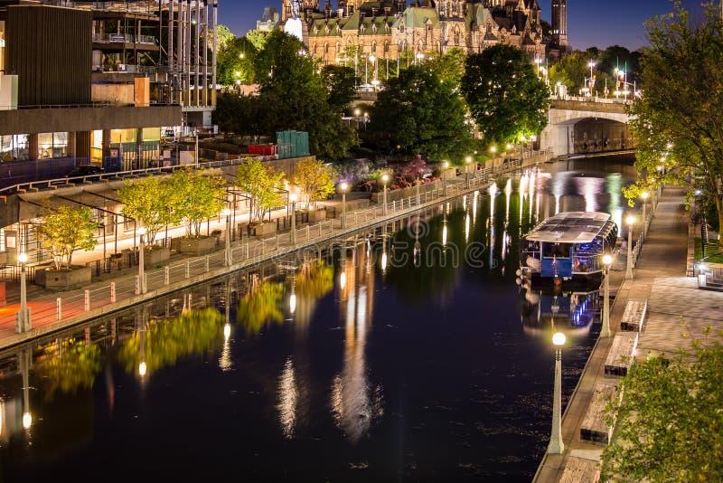 Capitale d'Ottawa du Canada Ontario Canada images libres de droits