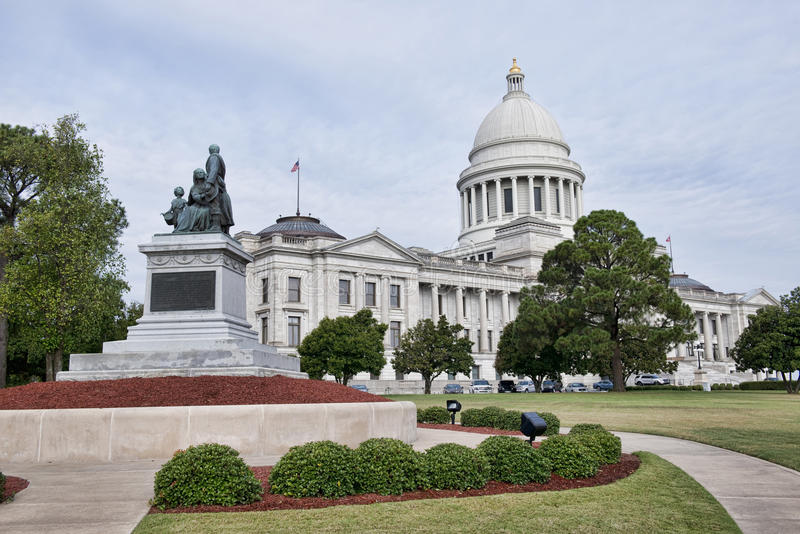 Capitale de l'État de l'Arkansas image libre de droits