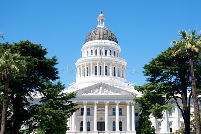 Capitale de l'État de la Californie image stock