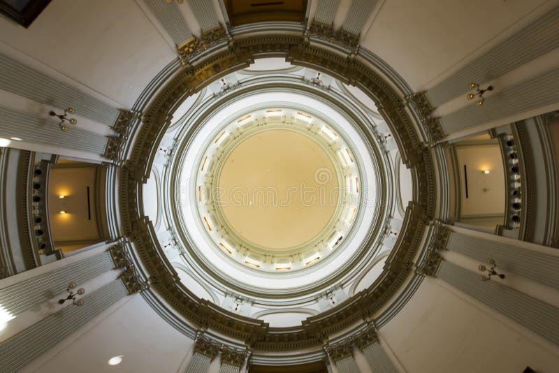 Capitale de l'État de la Géorgie images libres de droits