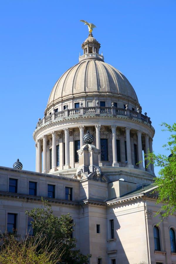 Capitale de l'État du Mississippi image libre de droits