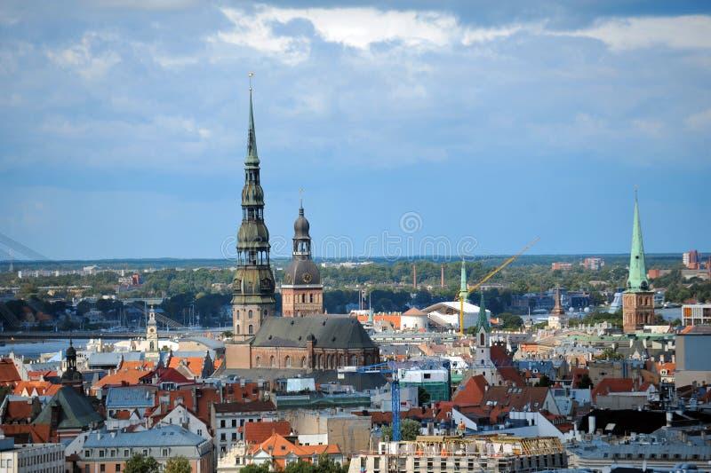 Capitale de la Lettonie Riga image stock