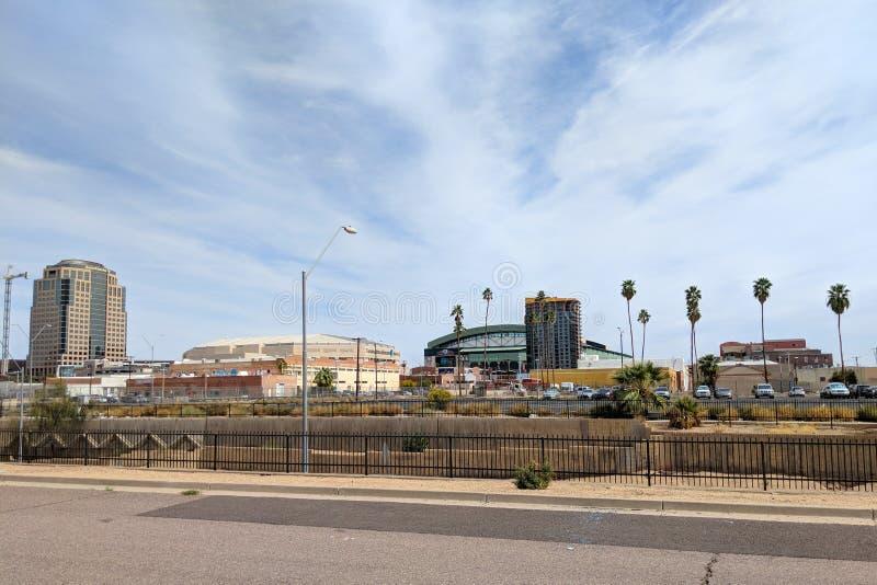 Capitale dell'Arizona di Phoenix fotografia stock libera da diritti