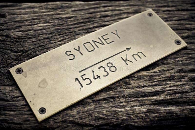 Capitale dell'Australia - Sydney immagine stock