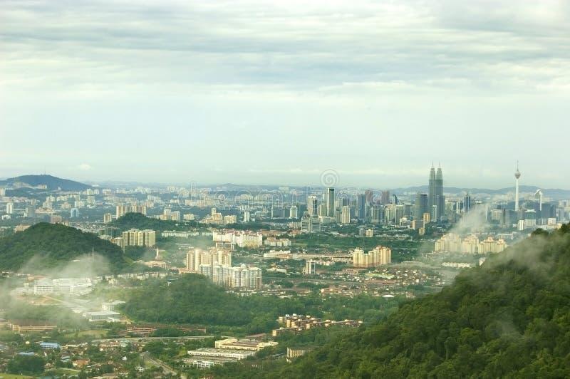 Capitale della Malesia - Kuala Lumpur fotografia stock