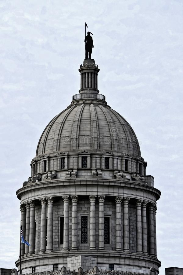 Capitale dello Stato di Oklahoma, Oklahoma City fotografia stock libera da diritti