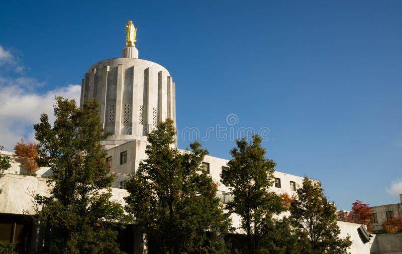 Capitale dello Stato Salem Oregon Government Downtown immagine stock