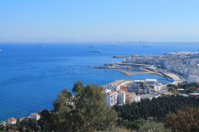 Capitale di Algeri dell'Algeria fotografie stock libere da diritti