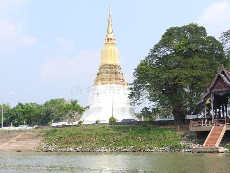 Capitale di Ayutthaya del regno del Siam immagine stock libera da diritti