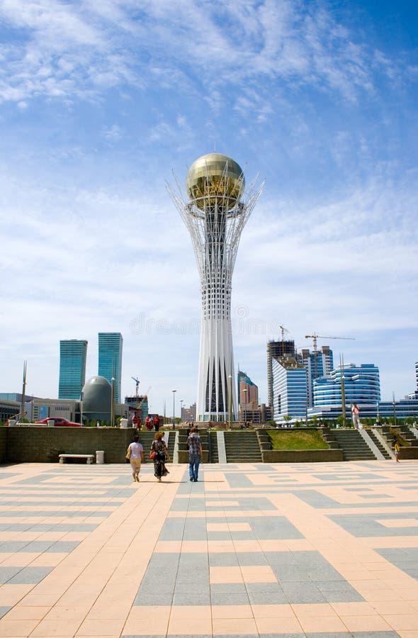 Capitale di Kazakhstan Astana. immagine stock