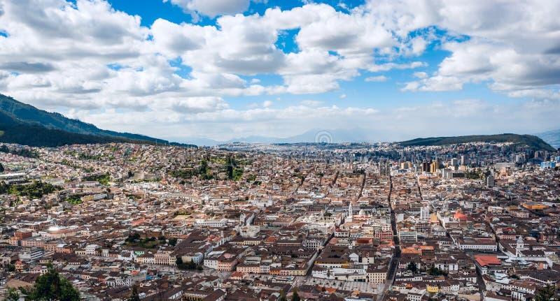 Capitale di Quito, Ecuador, Sudamerica immagine stock