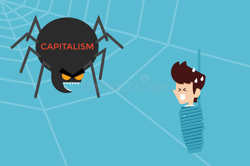 capitalismo royalty illustrazione gratis
