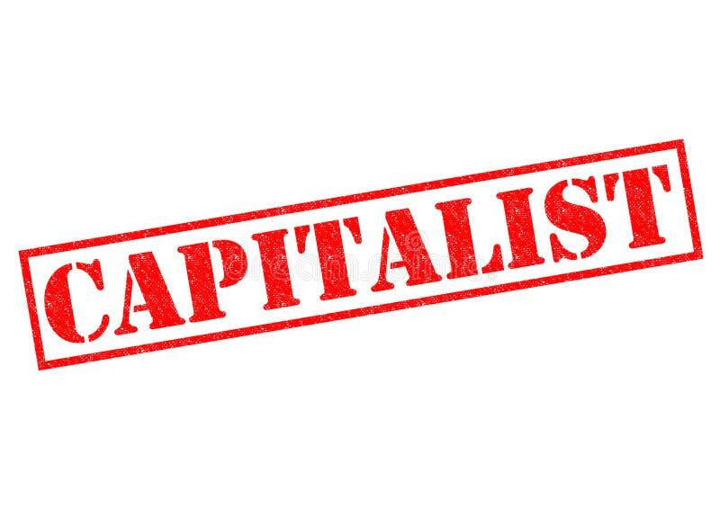 capitaliste illustration libre de droits