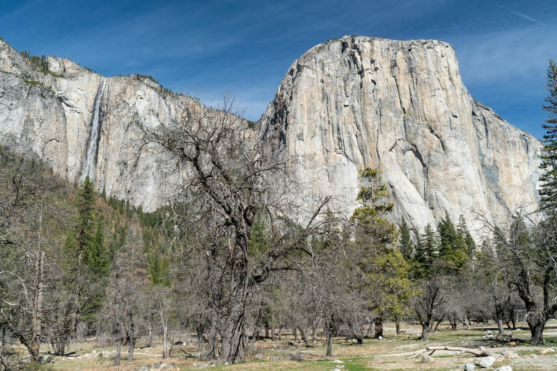 capitan EL εθνικό πάρκο Καλιφόρνια& στοκ εικόνα με δικαίωμα ελεύθερης χρήσης